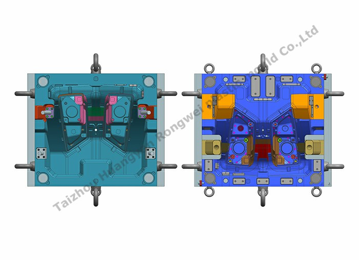 Lamp part cavity mould