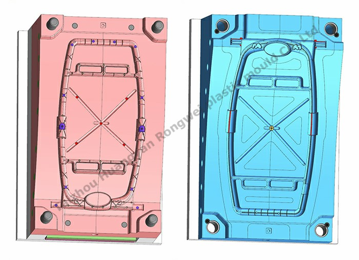 Stroller body cavity mould