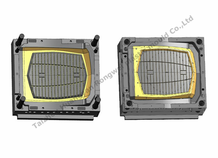 Air cooler panel mould