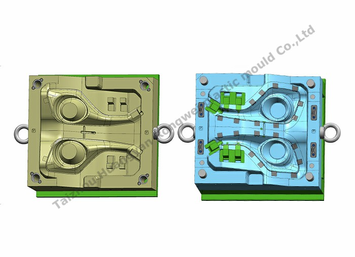 Fog light decoration mould